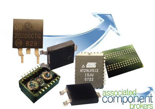 Broker for electronic components